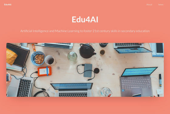 Excited to launch our new @EUErasmusPlus project Edu4AI website https://edu4ai.eu - Stay informed on latest AI news in education #Edu4AI #AI #ErasmusPlus @kmkpad