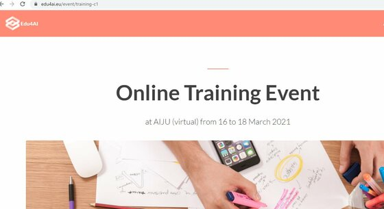 #Edu4AI #trainthetrainers today at 15.00 CETdevelop a curriculum to introduce students to #AI and data science, stimulating #criticalthinking through creation of #artefacts @fmdigitale @AIJU_Tecnologi @EdumotivaLab Interested secondary school teachers https://mondodigitale.org/it/node/42893 https://t.co/XmgpK2PGnM